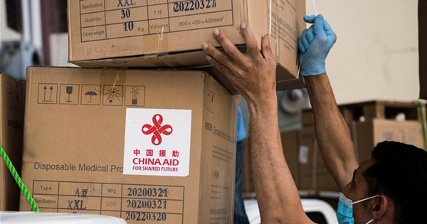 Egypt receives 2nd batch of anti-coronavirus medical aid from Chinese gov't