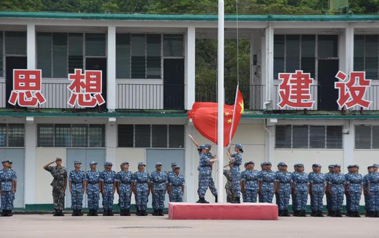 HK tertiary students graduate from PLA military camp