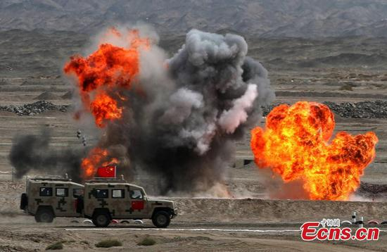 China wins first place in 'Safe Environment' contest in Army Games