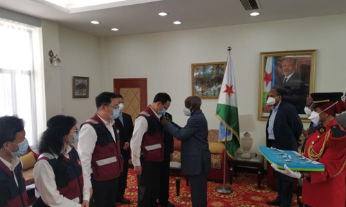 Chinese medical team awarded 'Independence Day Medals' in Djibouti
