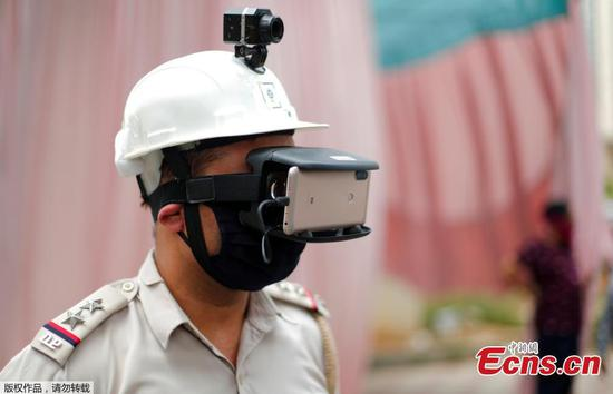 New equipments applied to monitor temperature of commuters in India
