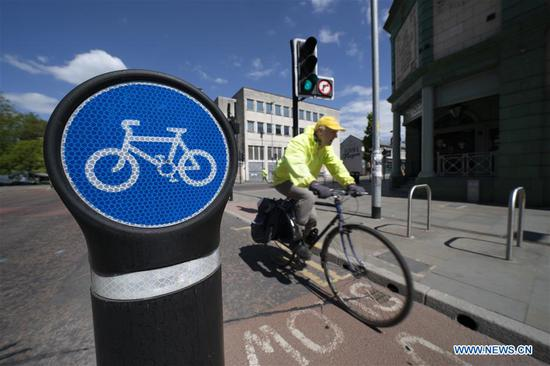 UK announces 2-billion-pound package to encourage cycling and walking amid COVID-19 pandemic