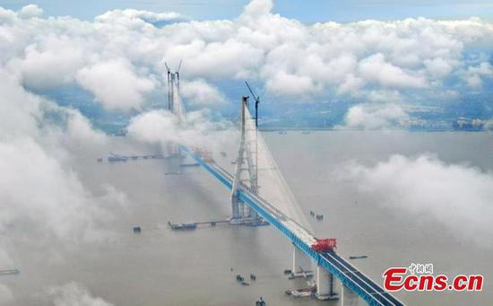 Shanghai-Suzhou-Nantong bridge to start operation on July 1