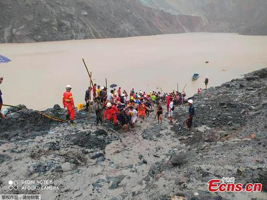 Death toll rises to 162 in monsoon landslides in Myanmar's northernmost state