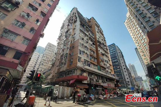 Hong Kong reports 25 new COVID-19 cases, 2 in Lux Theatre Building Block