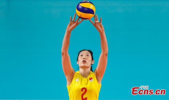 Chinese volleyball star Zhu Ting named in FIVB Roster 100 list